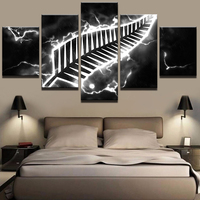 fashion poster Modular Pictures Vintage Home Decoration Paintings On Canvas 5 Panels Sport Type Posters And Prints On The Wall