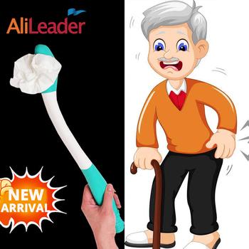 Nowy przyjazd dla starszych mężczyzn i niepełnosprawnych długi zasięg komfort wytrzeć uchwyt na papier toaletowy ramię rozszerzenie uchwyt do wycierania tyłek tanie i dobre opinie AliLeader Wipe stick