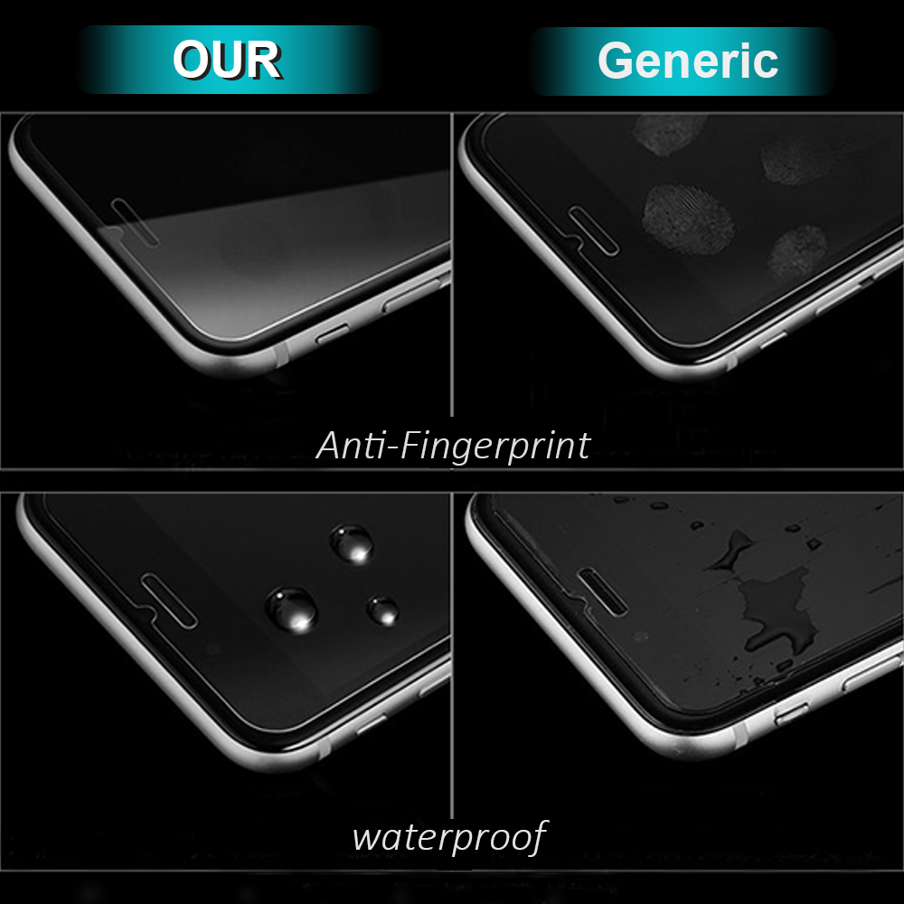 check out 9f40e 2456d Wholesale 100 PCS/Lot For Apple iPhone XS Max XR 10 6 6S Plus Premium  Tempered Glass Screen Protector 0.26 2.5D 9H 6.5inch 6.1-in Phone Screen ...