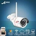 Anran 720 p de video vigilancia cctv cámara de seguridad inalámbrica wifi cámara de red ip hd onvif h.264 ir de visión nocturna al aire libre