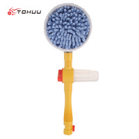 Automatic Washing Brush Professional Car Wash Switch Water Flow Foam Brush Rotating Car Washer Car Wash Brush Auto Clean Tools