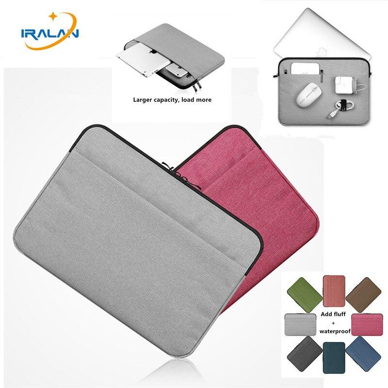 Leinwand Laptop Taschen Hülse Notebook Fall für Dell HP Macbook air Retina Pro 8 10 11 12 13 14 15 15,6 zoll Weichen Abdeckung für xiaomi