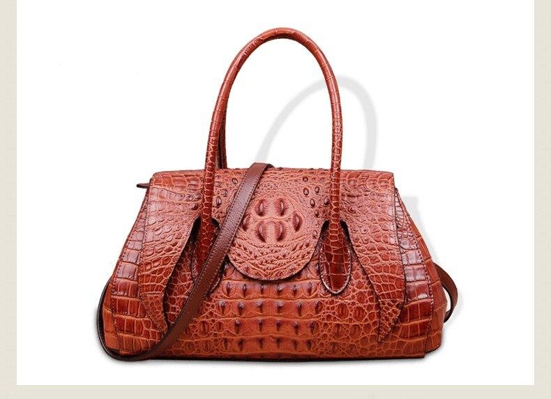 fashion designer woman bag crocodile pattern women's leather handbags lady bag shoulder bag funky fashion designer