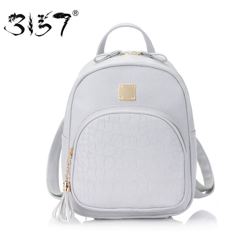65aa43aeca women backpack leather school bags for teenager girls waterproof stone  flowers sequined female preppy style small backpacks 3157