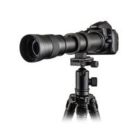 Mcoplus Super Telephoto Lens Manual Zoom Lens for Canon 5D II 6D 7D 50D 60D 70D 550D 600D 650D 700 420 800mm F8.3 16 DSLR Camera