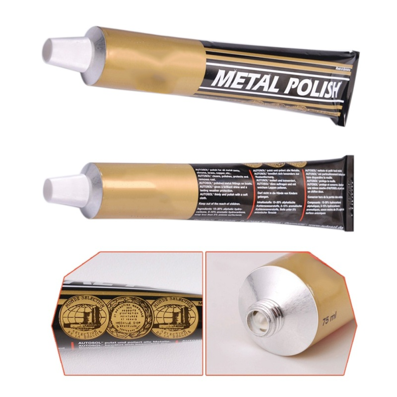 50g 100g metal polimento creme faca máquina de polimento cera espelho metal aço inoxidável assistir polimento pasta