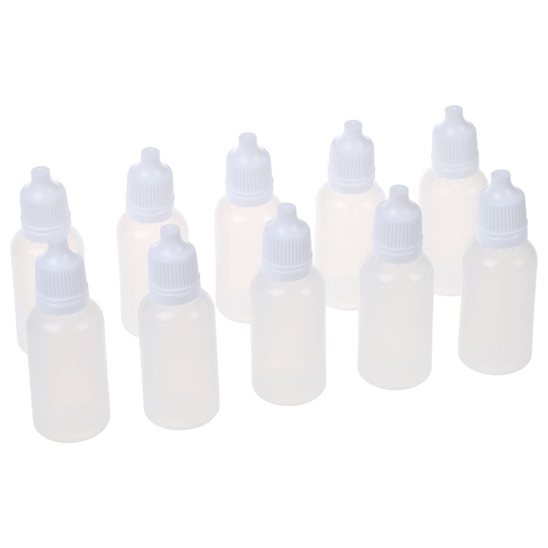 JEYL 10 pcs Plastic Bottle Drop Bottle 20ml ceeture 20ml