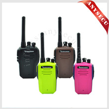 3pcs Back/Pink/Green/Brown QUANSHENG TG-K100 Walkie Talkie 5W VHF 136-174MHz 16CH Jacklight Scan DTMF 2 Antenna Two Way Radio
