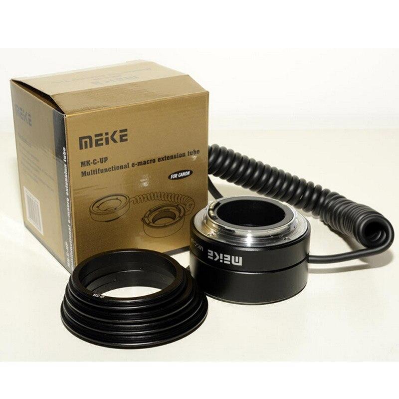 Meike MK-C-UP Auto Macro Tube d'extension AF adaptateur inverse pour appareil photo reflex numérique Canon - 6