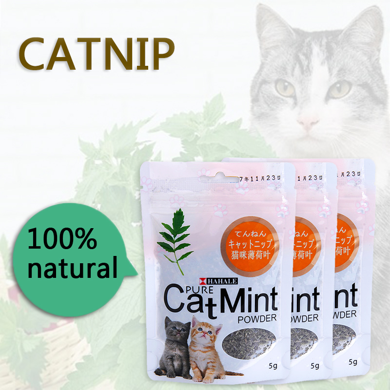 Menthol Flavor Cat Treats Digestive Pet Supplies Promotional Premium Catnip Hot Sale Cat Mint Natural Pet Food Organic Funny Toy 1