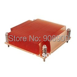 New CPU Cooler Processor Socket 1366 for 1U server wavelets processor
