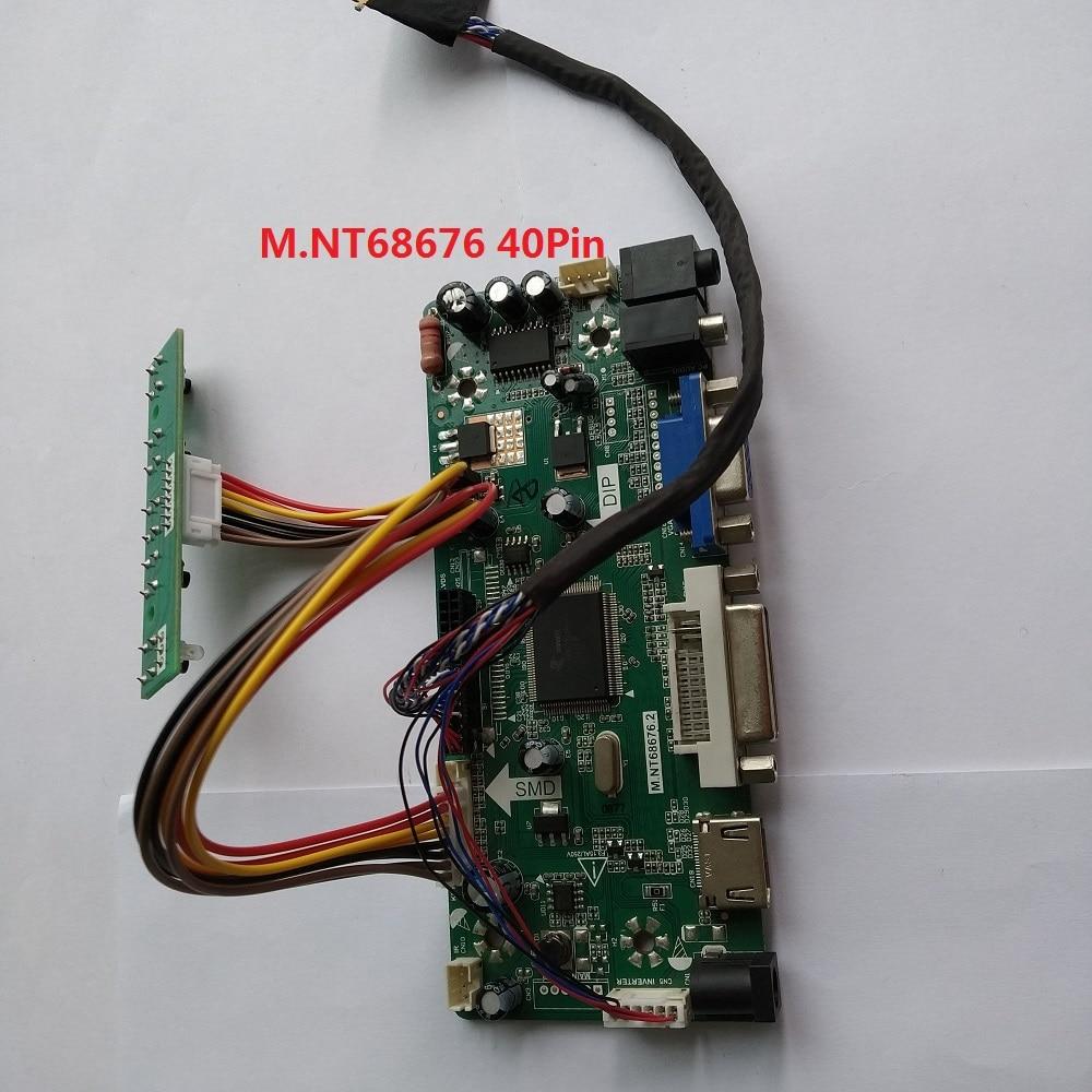 For LTN156AT19 001 15 6 1366X768 DVI LVDS VGA HDMI LCD LED monitor Card Panel Screen