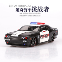 1:24 Challenger SRT car Model Maisto Alloy Modified Version of The 911 Simulation Deecoration Model