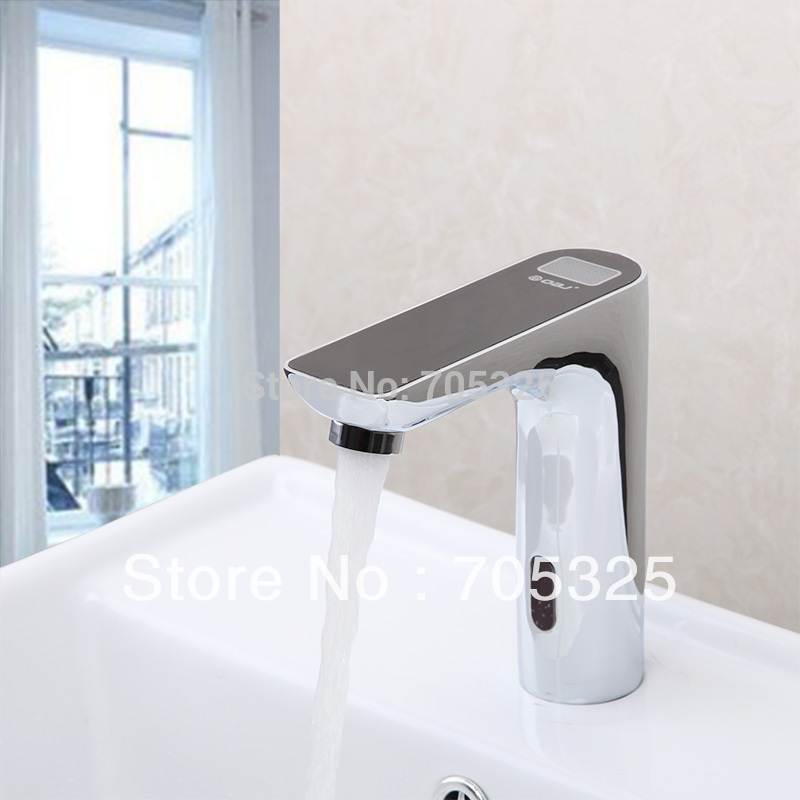 Great Price Temperature Display Automatic Hand Touch Free Tap Hot ...