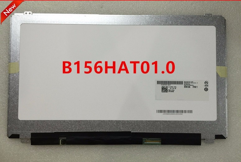 Laptop LCD Screen 15.6 inch for DELL for B156HAT01.0 lcd display Panel high resolution New Original After rigorous testing 15.6 new original 12 0 inch for hp for pavilion x2 12 b assembly lp120up1 spa2 without borders after rigorous testing