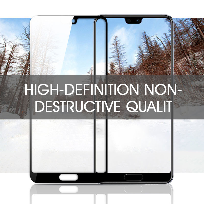 Image 5 - 35D Protective Glass For Huawei P20 Lite Pro P30 P10 Lite Tempered Glass For Huawei Honor 9 Lite 10 V10 Screen Protector Film-in Phone Screen Protectors from Cellphones & Telecommunications