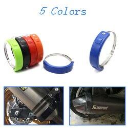Gorący bubel akcesoria motocyklowe tłumik/wydechowy owalny pomarańczowy Protector dla YAMAHA XSR700 XSR900 XSR 700/900