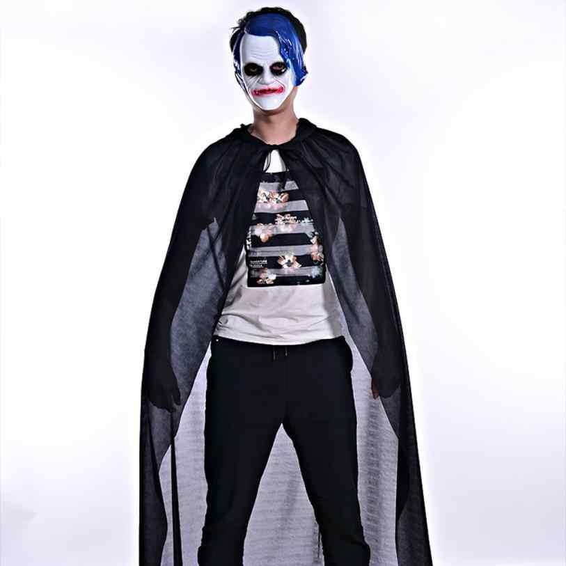 Fast ส่งขายร้อนผู้ชายผู้หญิงเต่าคอ Bronzing เสื้อคลุม Wicca Robe Halloween Ghost Party เสื้อผ้า Drop Shipping c820