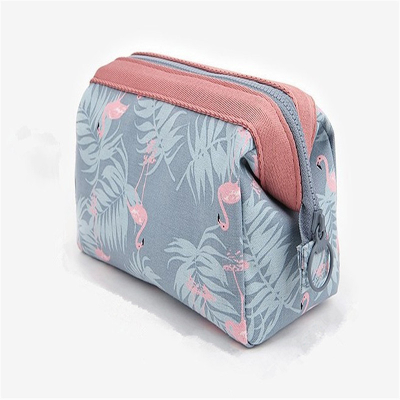 Pouch Cosmetic-Bag Ziplock-Case Washing-Storage-Bag Make-Up Eco-Friendly Waterproof Portable