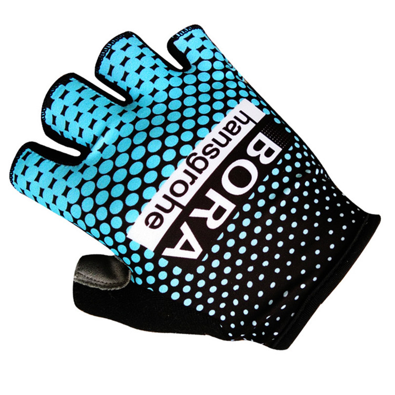все цены на 2018 BORA hangsgrohe Team Cycling Glove Ciclismo Ropa Bicycle Bike Gloves Shockproof Half Finger Glove Summer Sport Glove
