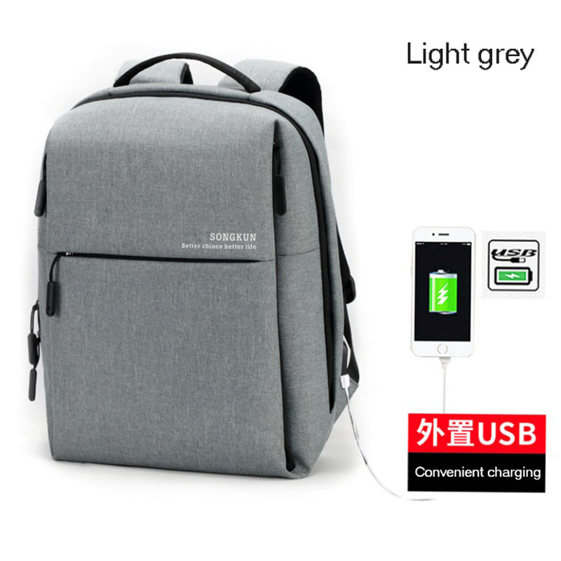 Hot Sale USB double shoulder bag male leisure school college student bag Oxford cloth computer backpack Free shippingHot Sale USB double shoulder bag male leisure school college student bag Oxford cloth computer backpack Free shipping