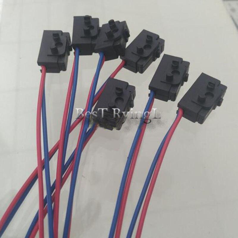 Micro interrupteur de verrouillage de porte gauche + droite pour V-W Pas-st B5 Golf 4 MK4 3BD998785 3BD998786