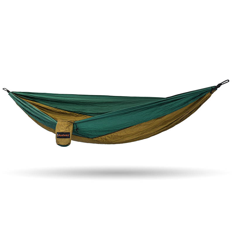 Acehmks Aluminum Alloy Snap Hammocks For 2 Person Sleeping Bed Outdoor Camping Swing Portable Ultralight Design 300*200 CM