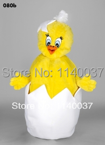 mascot Hatched Chick mascot costume custom color costume cosplay Cartoon Character carni ...