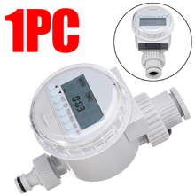1pcs Garden Watering Irrigation Timer LCD Solar Digital Auto Water Saving System Controller