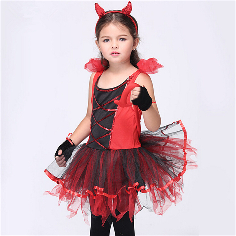 Aliexpress.com : Buy Girl Devil Costumes Halloween Devilina ...