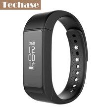 Techase фитнес-трекер умный Браслет спортивный рекорд Bluetooth браслет pulseira inteligente шагомер cicret трекер
