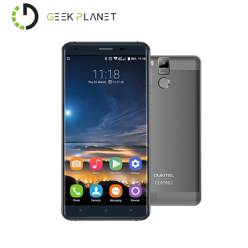 Original Oukitel K6000 Pro MTK6753 1 3GHz Octa Core 5 5 Inch FHD Screen Mobile Phone