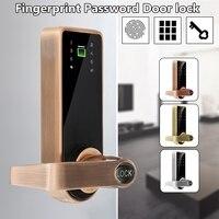 Safurance смарт код дверной замок с идентификацией через отпечатки пальцев клавиатуры карта безопасности дома доступа Управление Электрически