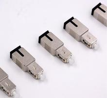 QIALAN SC UPC SC PC الذكور إلى SC/UPC الإناث الميكانيكية قيمة ثابتة المخفف