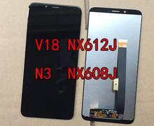 For ZTE Nubia N3 NX608J LCD Screen Display+Touch Panel Digitizer  NX617J Display V18 NX612J