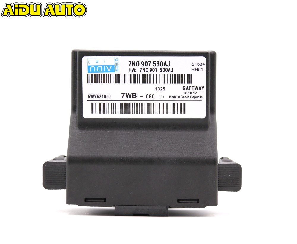все цены на 7N0907530AJ TOP EXTEND CANBUS GATEWAY FOR VW JETTA 5 MK5 GOLF 6 MK6 TOURAN OCTAVIA PASSAT B7 CC 7N0 907 530 AJ онлайн