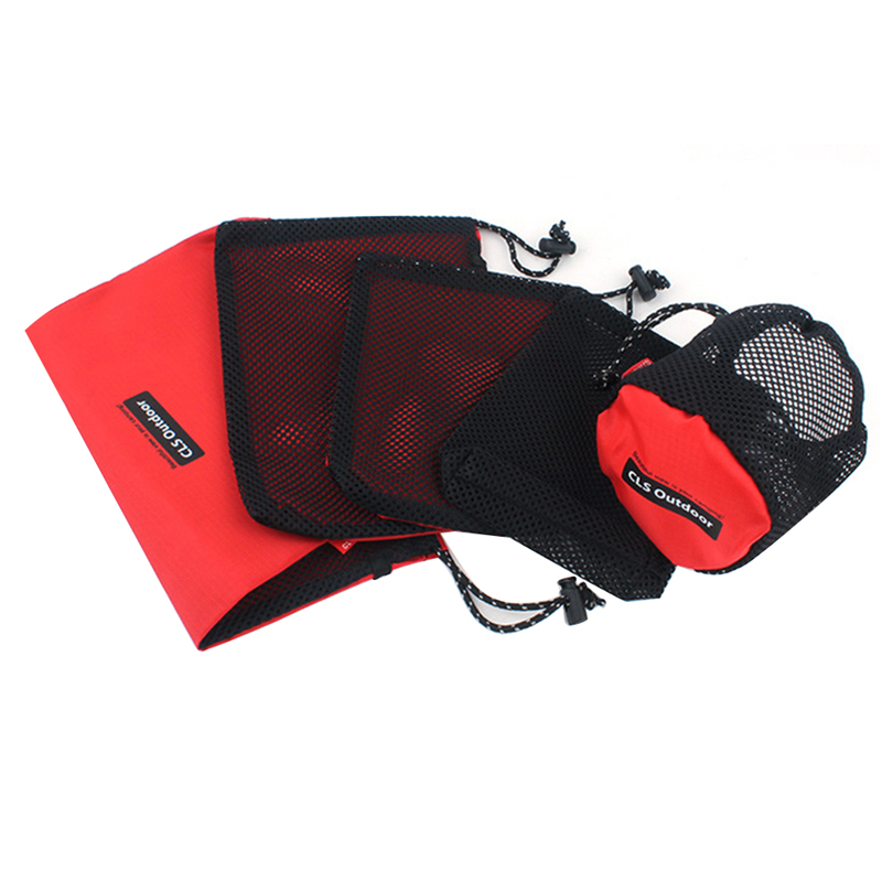 5pcs/Set Outdoor Travel Storage Bag Travel Organizer Set Camping Accessories Sorting Pack Tourism Admission Package Outdoor Tool