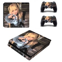 Dead or Alive 6 PS4 Slim Skin Sticker Vinyl For PlayStation 4 Console and Controllers PS4 Slim Skin Stickers Decal