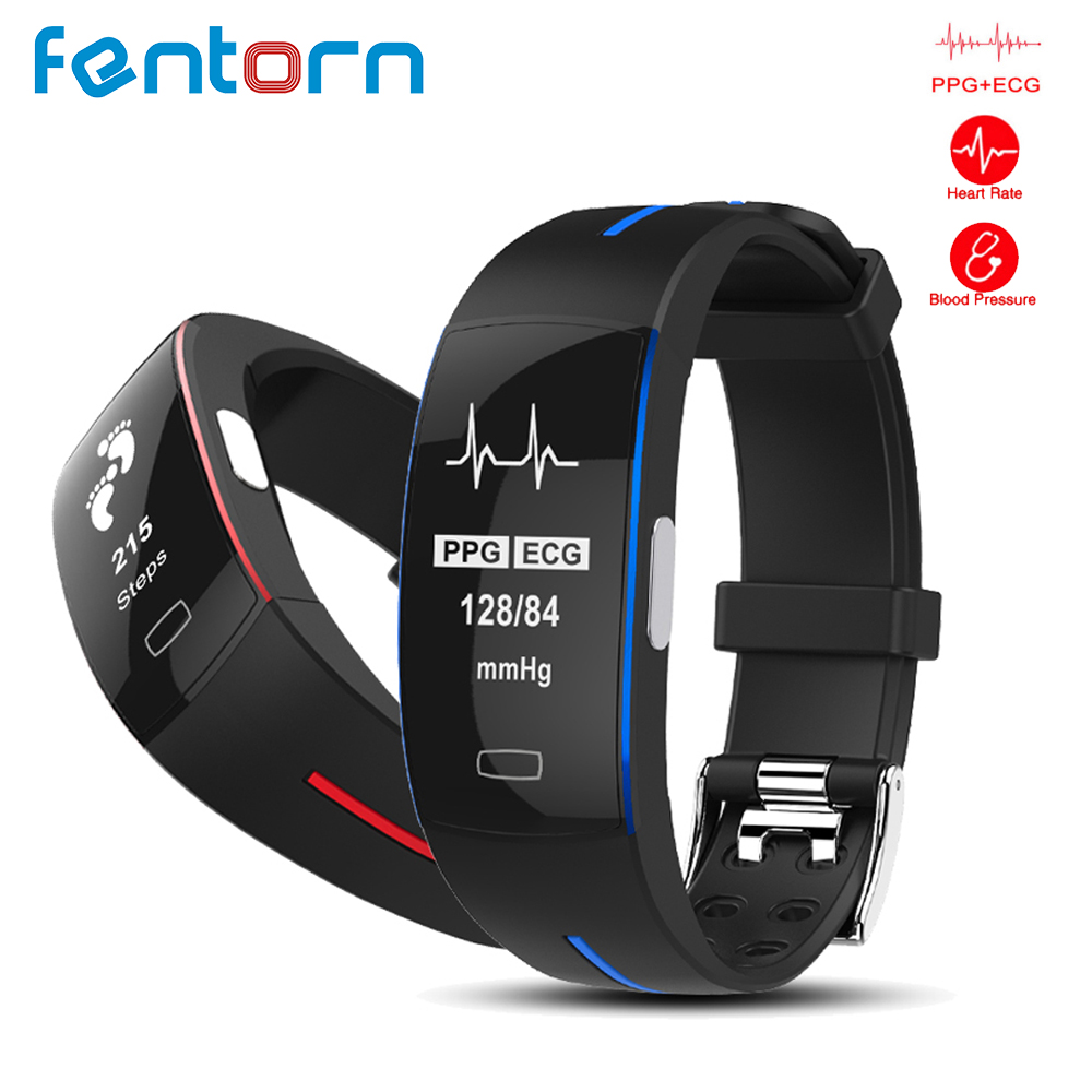 все цены на Fentorn Professional Sport Smart Bracelet ECG+PPG Blood Pressure Heart Rate Monitor Smart Band Fitness Activity Tracker Watch