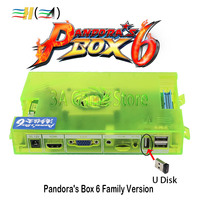 Original Pandora Box 6 Family Version Motherboard 1300 in 1 can add 3000 games support FBA MAME PS1 game Pandora's Box 6 board