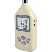 Digital LCD Thermometer Hygrometer Handheld Industrial Temperature Humidity Meter Factory Air Condition C/F Thermo hygrometer