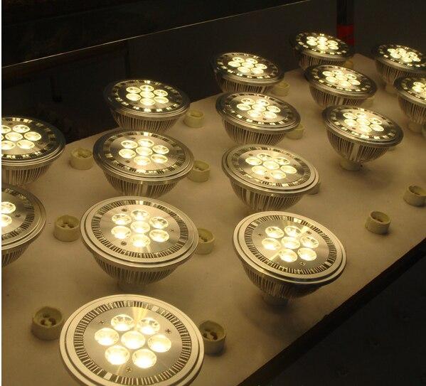 LED G53 GU10 E27 14W QR111 AR111 led işıqfor 1120lm = 100W halogen - LED işıqlandırma - Fotoqrafiya 6