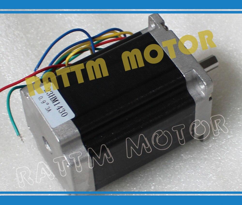 Top Recommend! NEMA23 270 Oz-in 0.9 deg CNC stepper motor stepping motor/3.0A