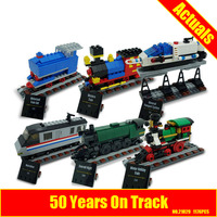 Lepin 21029 1176pcs Creator Train 50 Years On Track Block Set Compatible With 4002016 Kids Toy