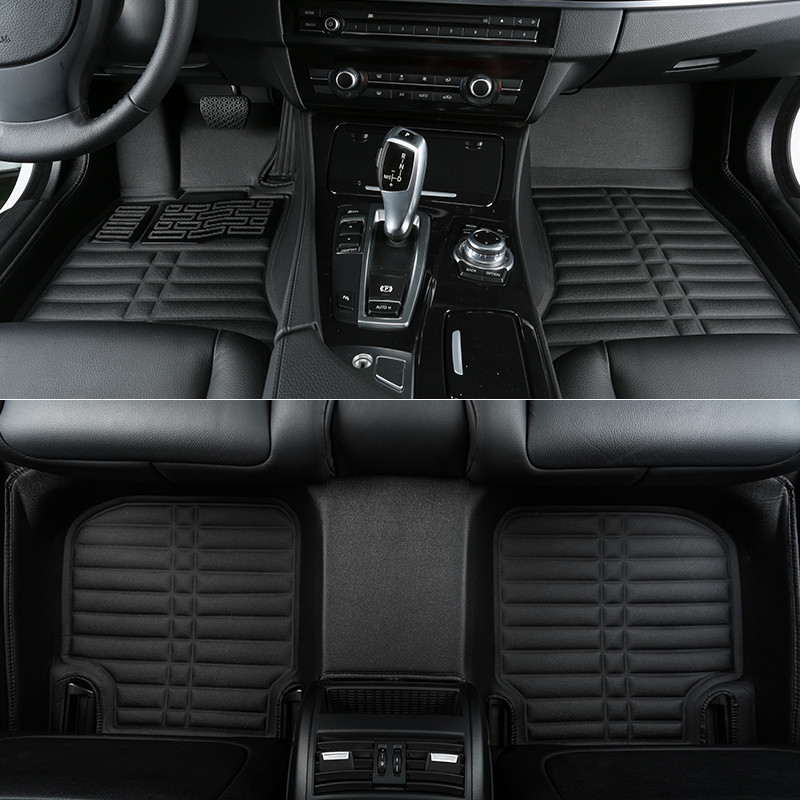 Good quality! Custom special floor mats for New Audi A5 4doors 2017 Easy to clean waterproof carpets for A5 2018,Free shipping