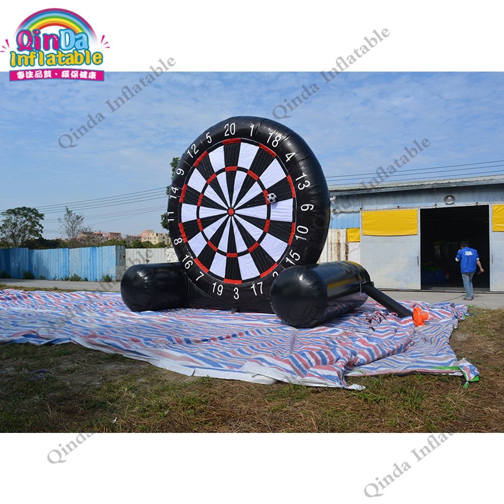 China factory inflatable soccer dartboard 3.6M height inflatable foot darts for kids and adultsChina factory inflatable soccer dartboard 3.6M height inflatable foot darts for kids and adults