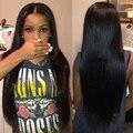 Бразильский Виргинский Волосы Прямые 4 Пучки Класс 7А Brazillian Человеческих Волос Weave 100% Необработанные Бразильские Прямые Волосы Девственницы