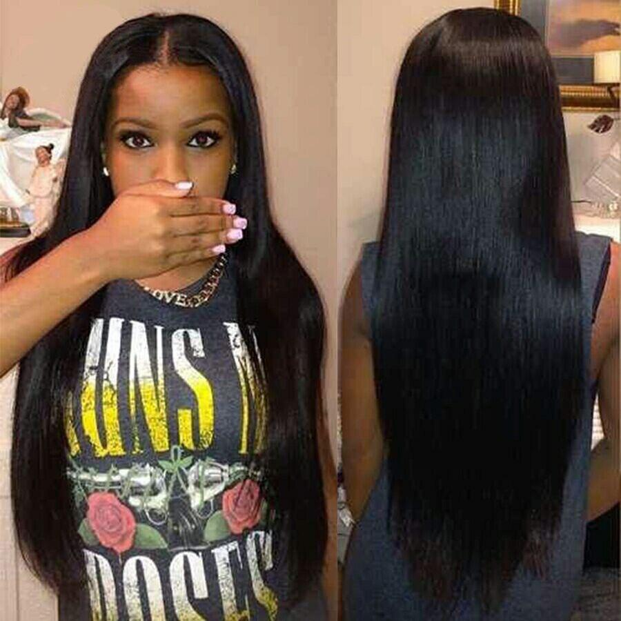 Brazilian Virgin Hair Straight 4 Bundles Grade 7A