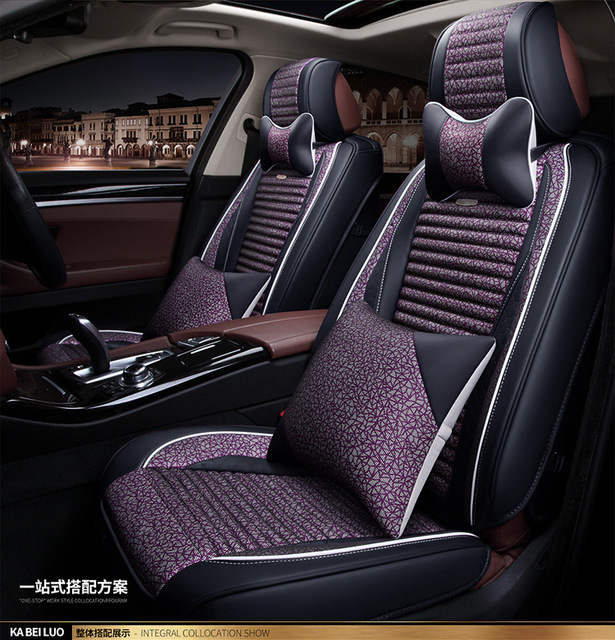 TO YOUR TASTE auto accessories universal luxury leather car seat cushions for TOYOTA HIACE