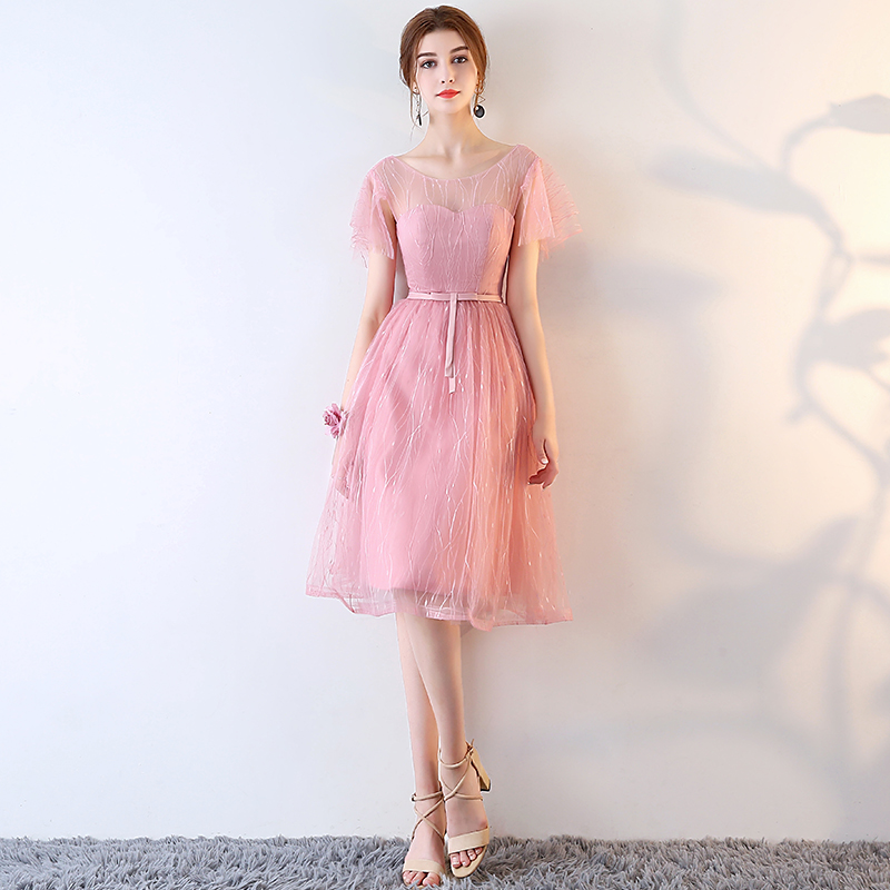 Charmant Women Backless Party Dress Pink Korean Style Off Shoulder Romantic Dresses  Women In Dresses From Womenu0027s Clothing U0026 Accessories On Aliexpress.com |  Alibaba ...